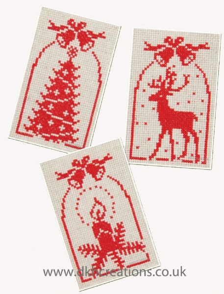 Jingle Bells Greetings Cards Cross Stitch Kit
